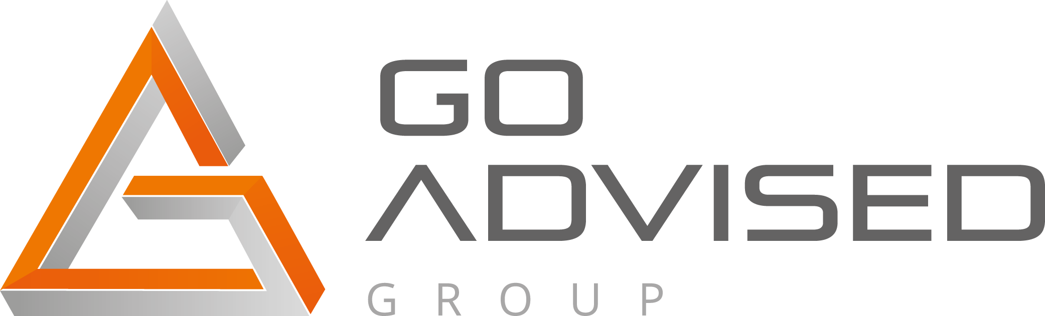 Go Advised Logo Liggend CMYK
